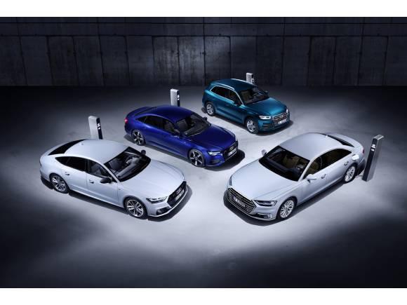 Nuevos motores híbridos enchufables para los Audi Q5, A6, A7 y A8