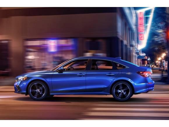 Honda Civic 2022 sedán: así será la nueva generación