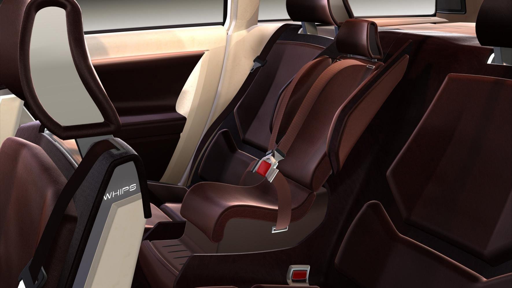 asiento infantil integrado mercedes. Black Bedroom Furniture Sets. Home Design Ideas