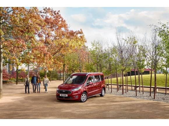 Ford actualiza sus Tourneo Connect y Courier