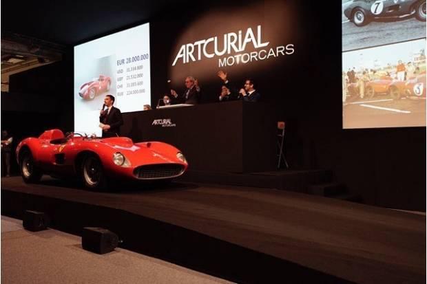 Ferrari 335 S Spider Scaglietti: el coche más caro del mundo