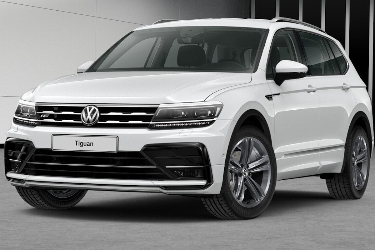 volkswagen tiguan allspace r line m s interesante de lo que parece. Black Bedroom Furniture Sets. Home Design Ideas
