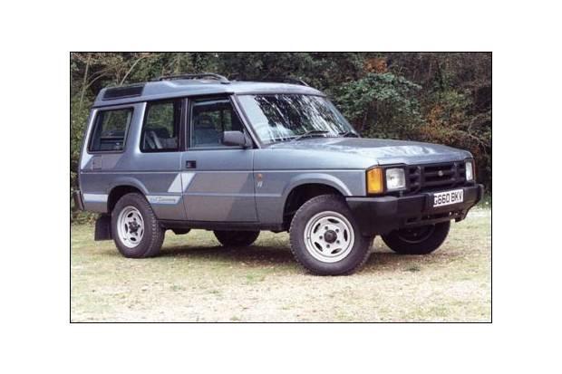 Land Rover Discovery 1989, versión de tres puertas