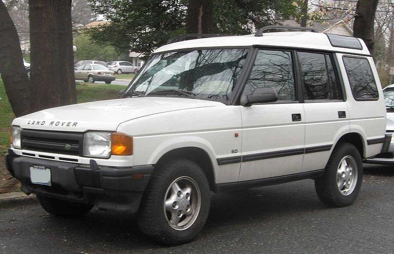 Land Rover Discovery, versión 5 puertas de 1990