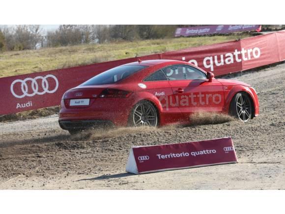 Audi entrega los nuevos coches al Real Madrid para la temporada 2013/14