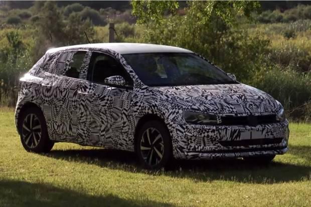 Vídeo: primeras imágenes oficiales del Volkswagen Polo 2017