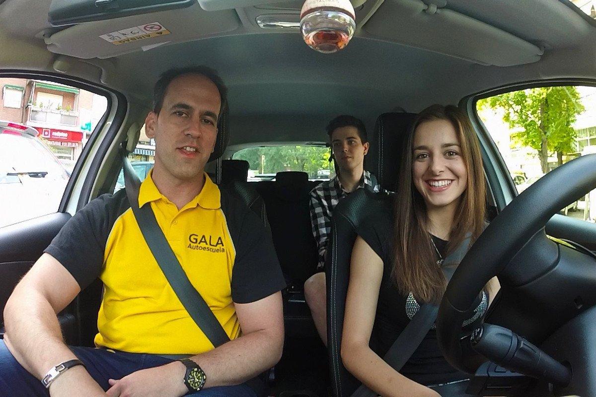 ayudas examen conducir