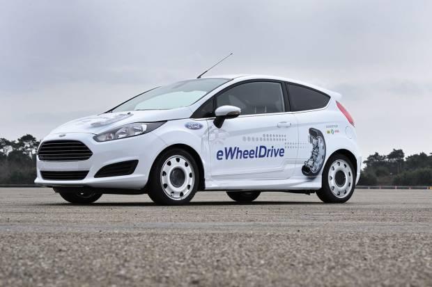 Ford Fiesta eWheelDrive, en busca de más espacio