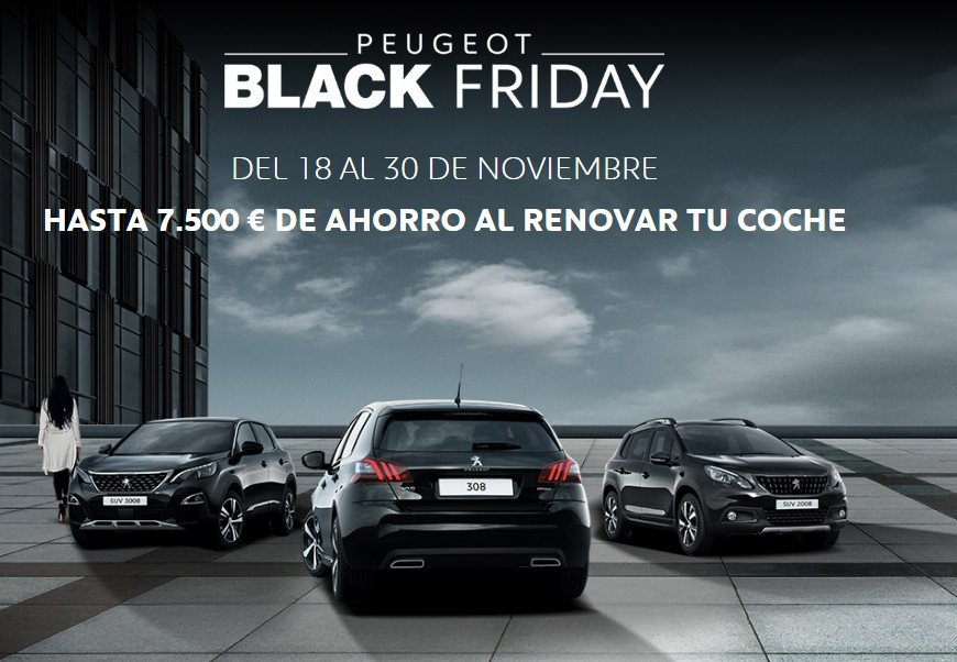 Peugeot Black Friday