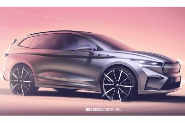 Skoda Enyaq: así es el diseño exterior del SUV checo 100% eléctrico