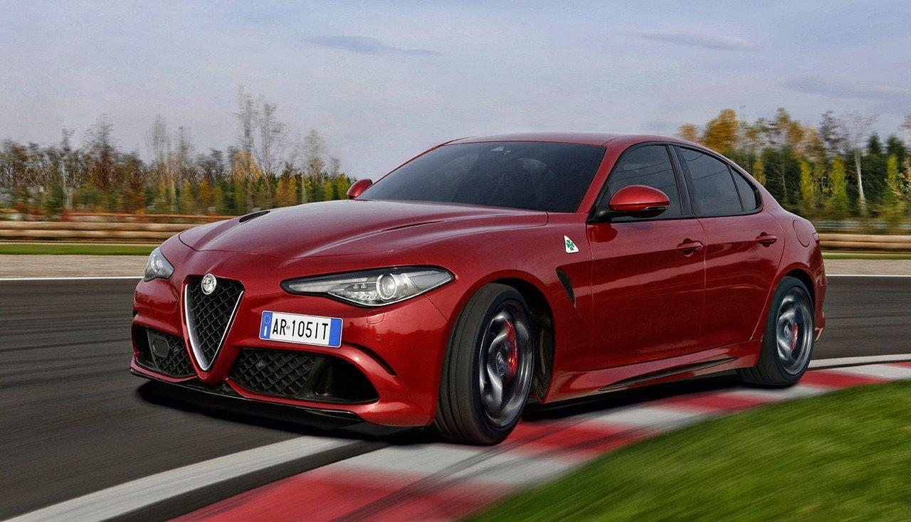 Alfa Romeo Giulia Quadrifoglio cambio autómatico