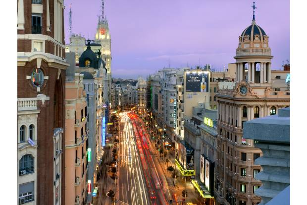 La nueva Gran Vía de Madrid será semipeatonal en 2018