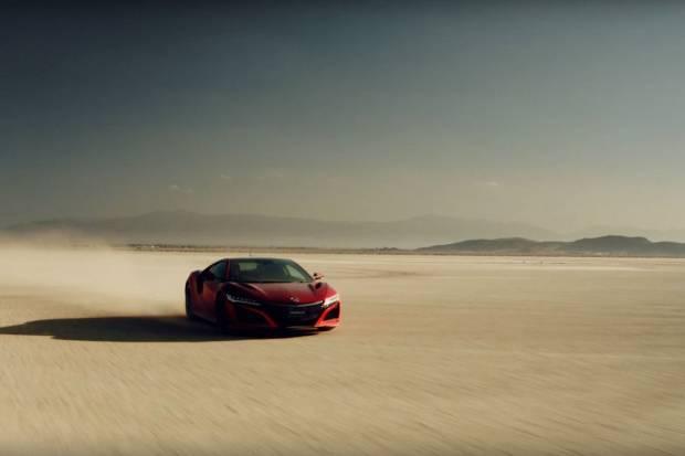 Vídeo: cómo hacer un geoglifo con un Honda NSX