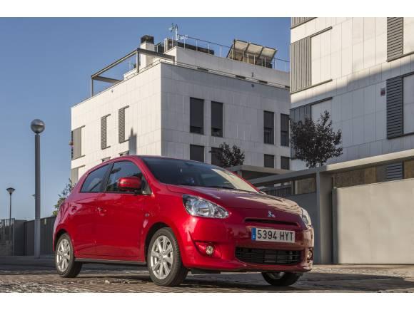 """Prueba Mitsubishi Space Star: en la ciudad, """"menos es más"""""""