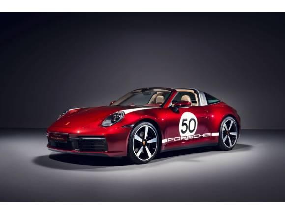 Porsche 911 Targa Heritage Design Edition: un exclusivo viaje al pasado