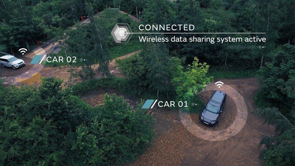 Land Rover autónomo