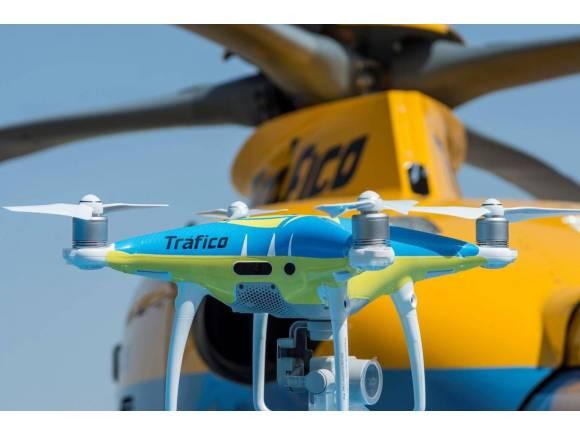 Conoce por dónde van a estar los drones de la DGT este verano 2021