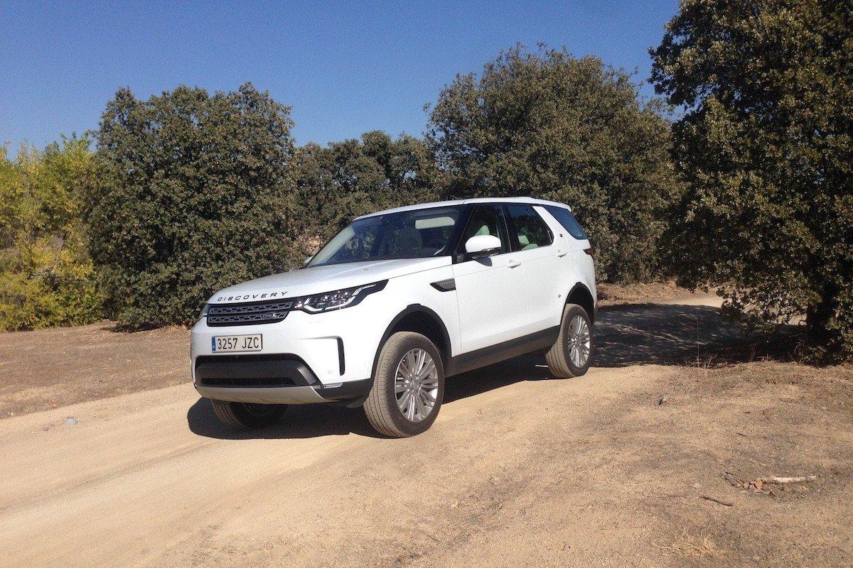 Prueba Land Rover Discovery 2017 TD6