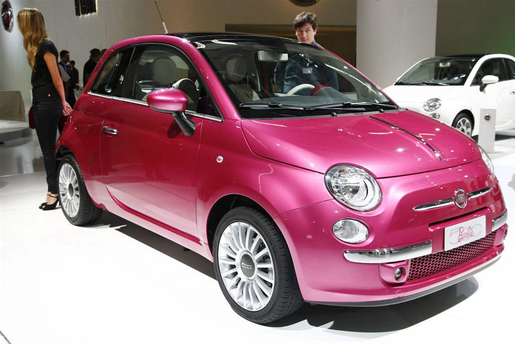fiat 500 barbie. Black Bedroom Furniture Sets. Home Design Ideas