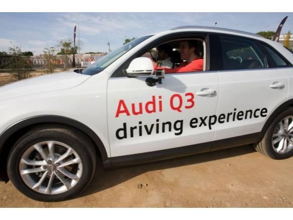 Audi Q3 y los jugadores del Regal Barcelona, galería de fotos