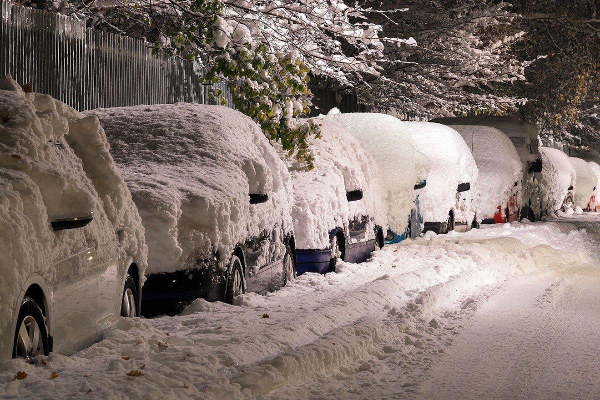 frio, nieve consejos de conducción