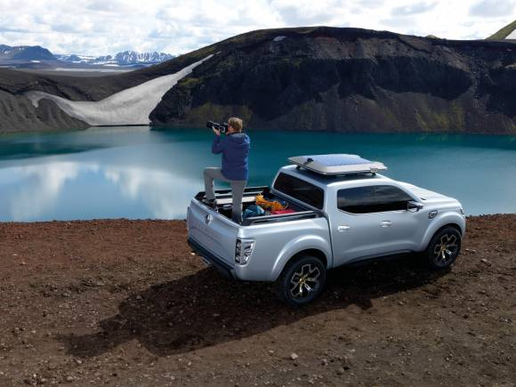 Renault Alaskan Concept: pick up imponente con un toque deportivo