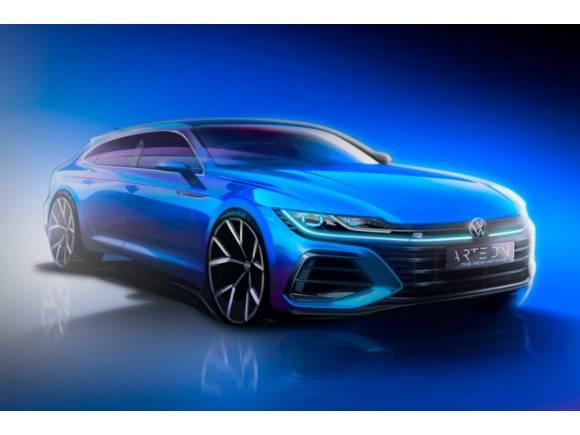 Nuevo Volkswagen Arteon: rediseñado... ¡Y con una versión Shooting Brake!