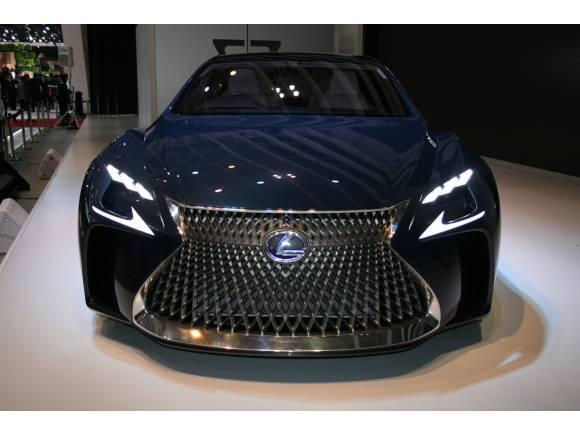 Lexus LF-FC, el futuro LS