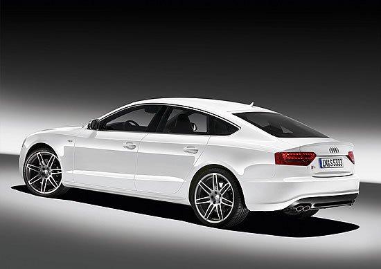 Audi S5 Sportback, vista de la zaga