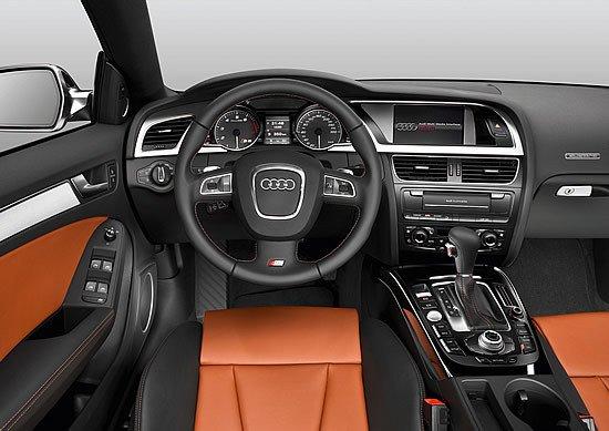 Audi S5 Sportback, vista del interior