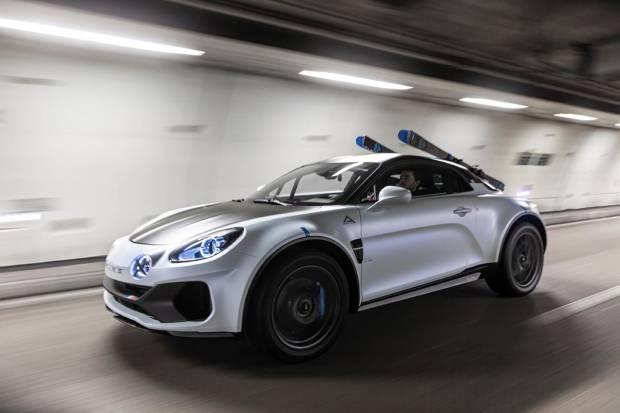 Alpine A110 SportsX: ¿el deportivo se convierte en crossover?