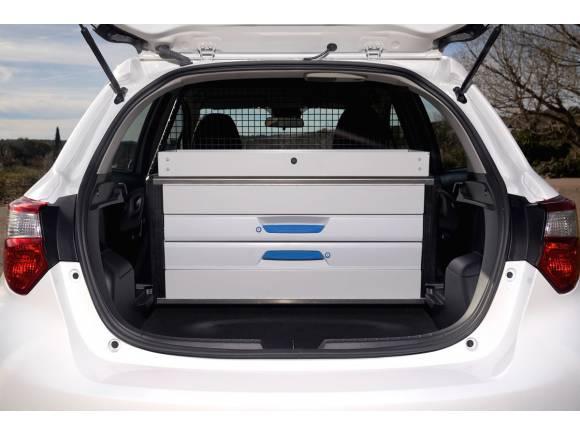 Nuevo Toyota Yaris hybrid ECOVAN, para un reparto ecológico