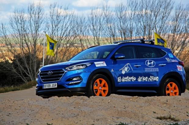 El nuevo Hyundai Tucson en El Desierto de los Niños 2016