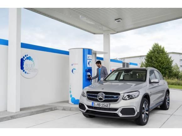 Mercedes GLC F-Cell: el coche de hidrógeno cada vez más cerca