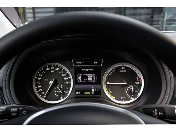 Mercedes Clase B Electric drive, el primero de Mercedes