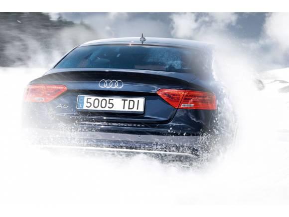 Comienzan los cursos de conducción Audi Winter driving experience 2013