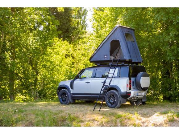 Land Rover Defender Autohome: con tienda de campaña incorporada