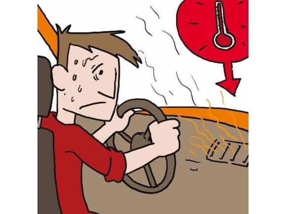 El calor dispara el riesgo de sufrir un accidente de coche un 22 %