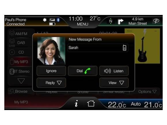 Internet en el coche: SYNC con My Ford Touch para el Ford Focus en 2012