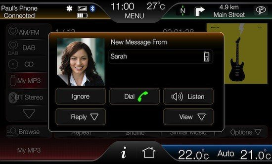SYNC con MyFord Touch