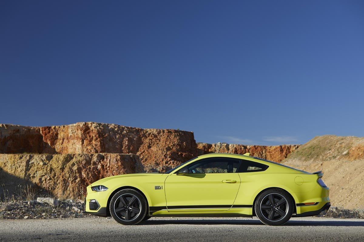 Prueba Ford Mustang Mach1