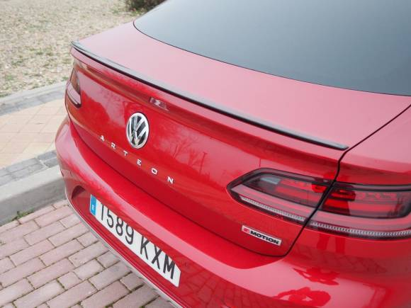 Prueba y opinión del Volkswagen Arteon, la berlina con carácter deportivo