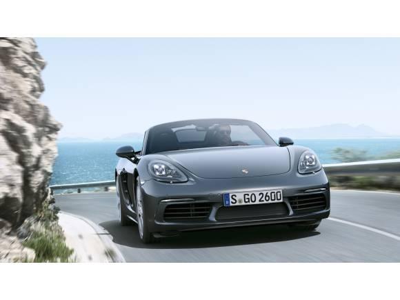 El legendario Porsche 718 Boxster ha vuelto: con motor cuatro cilindros turbo