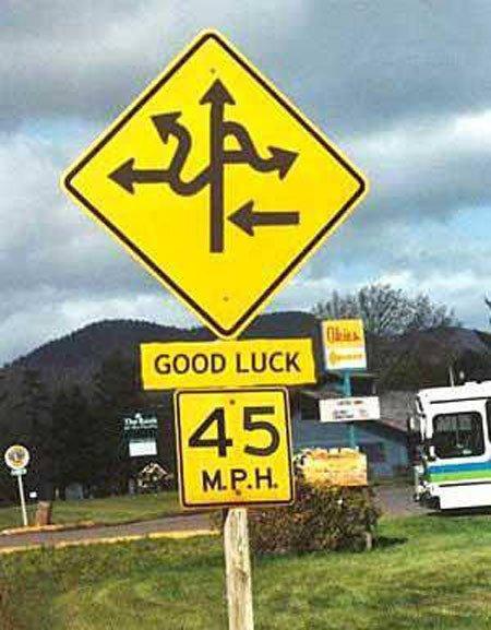 señales tráfico