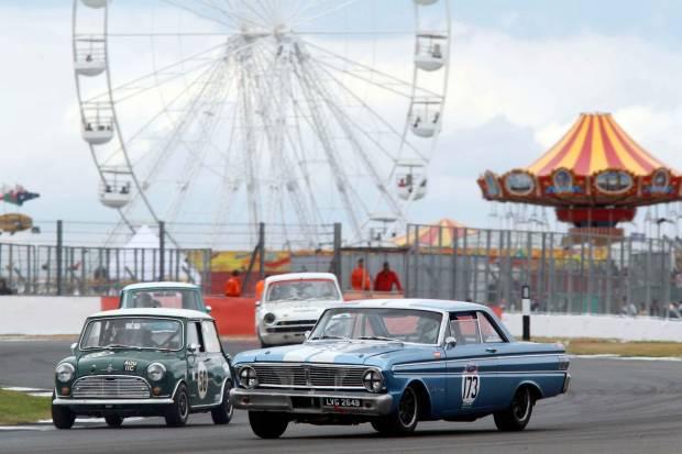 Silverstone Classic, tradición británica