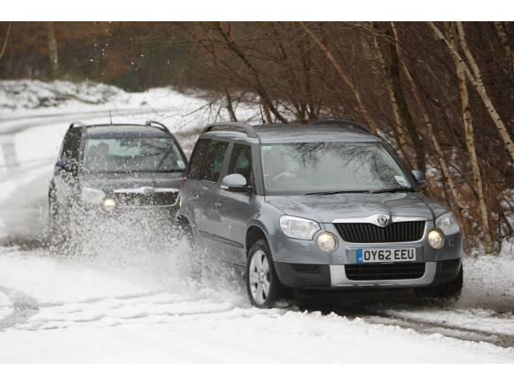 Filomena: ¿cuándo quitar el control de estabilidad con hielo o nieve?