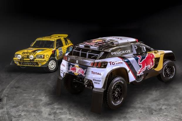 Peugeot 3008 DKR frente a 205 Turbo 16: los Reyes del desierto