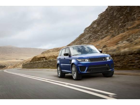 Range Rover Sport SVR, el Land Rover más rápido de la historia