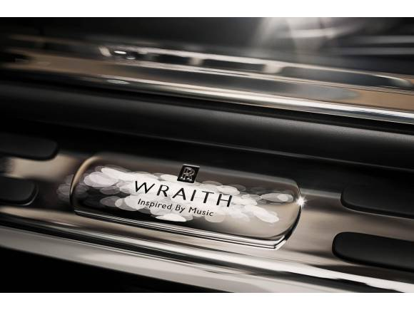 Rolls-Royce crea un Wraith inspirado en la música