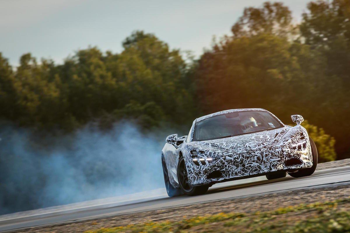 McLaren super series drift